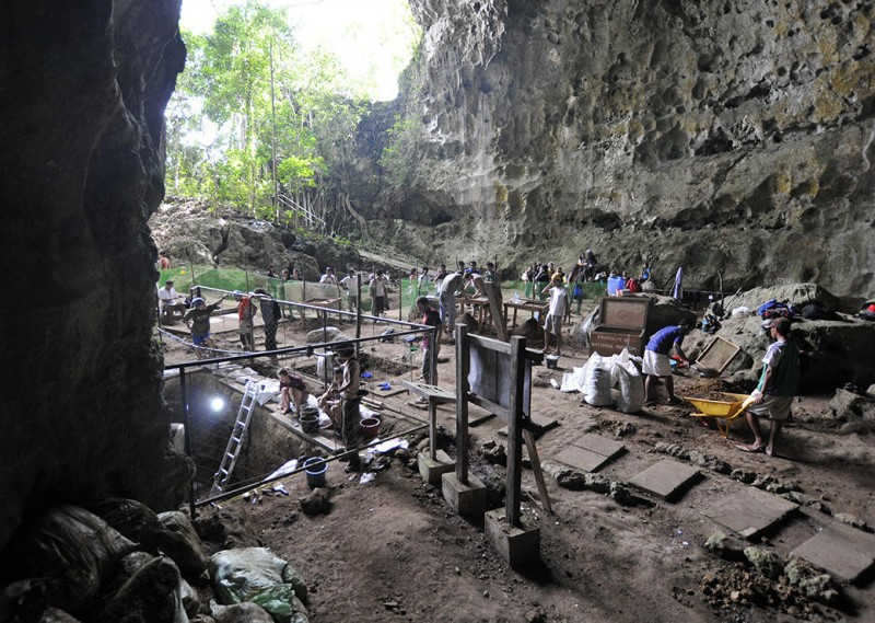 Grotte Callao aux Philippines © Callao Cave Archaeology Project